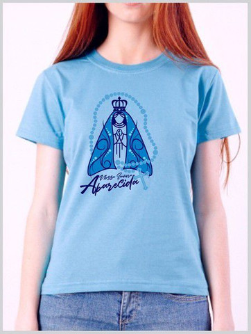 Camiseta em algodão + serigrafia : temática Católica  - Foto 5