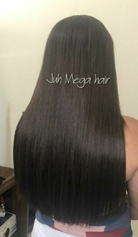 Mega hair, ponto americano,  entrelace, fita adesiva nó italiano  - Foto 4