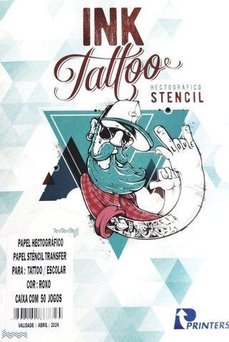 Papel Hectografico Stencil Ink Tattoo