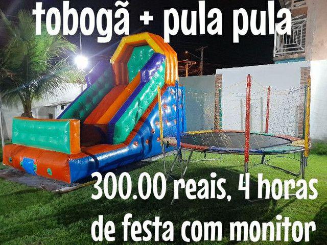LOCAÇÃO DE BRINQUEDOS INFLÁVEIS  - Foto 2