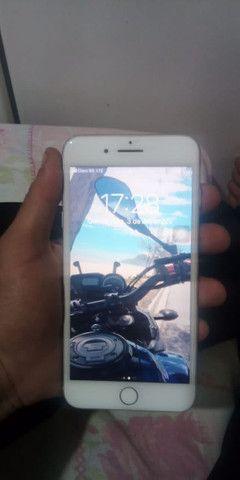 iPhone 7 Plus troco em moto boa - Foto 3