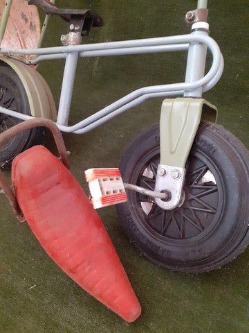 Rara bicicleta infantil Bandeirante roda plástica - Foto 2