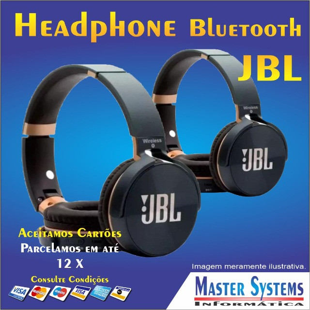 Fone de ouvido sem fio JBL Everest JB950