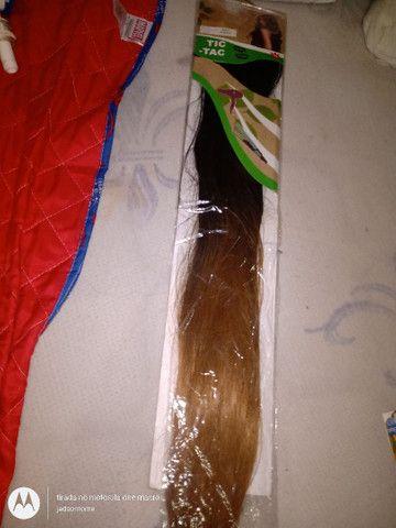 Vendo cabelo 100% orgânico Fiber 150g - Foto 2