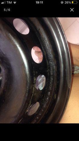 Roda 14 de ferro Toyota Etios Nova - Foto 4