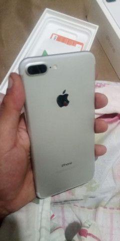 iPhone 7 Plus troco em moto boa - Foto 5