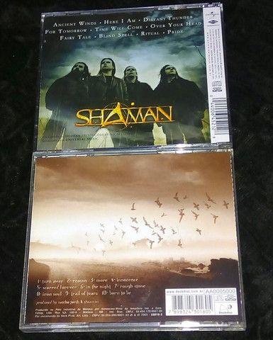 Helloween Walls of Jericho(alemão) & Shaman (Ritual & Reason) - Foto 6