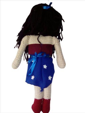 Boneca em Crochê Y.A.M Artesanato  - Foto 3