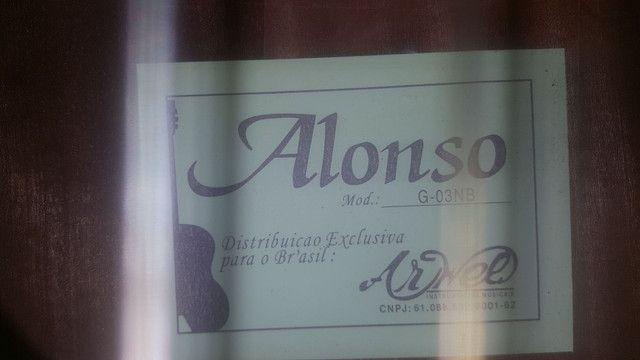 Violão seminovo Alonso G-03NB - Foto 3