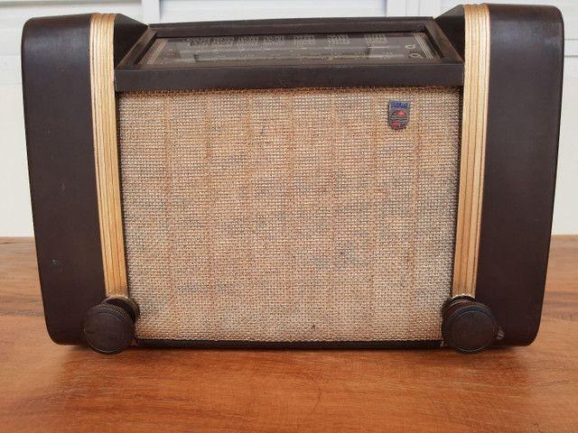 Rádio Philips antigo valvulado - Foto 2