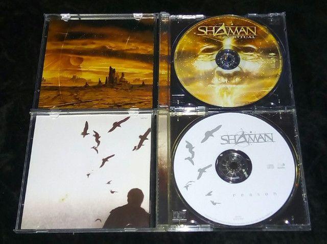 Helloween Walls of Jericho(alemão) & Shaman (Ritual & Reason) - Foto 5
