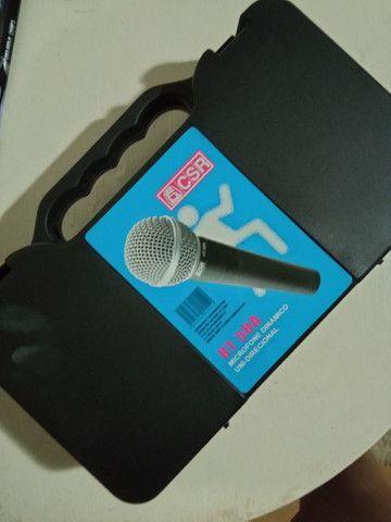 Microfone dinâmico unidirecional - Foto 3