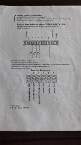 Inversor de frequência motor trifásico - Foto 3