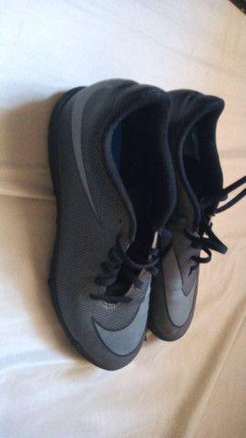 Chuteira Nike Society tamanho 37. - Foto 3