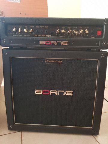 Amp Stack Guitarra 4x8