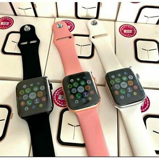 Smart watch iwo x8, totalmente original, temos as 3 cores disponíveis. - Foto 2