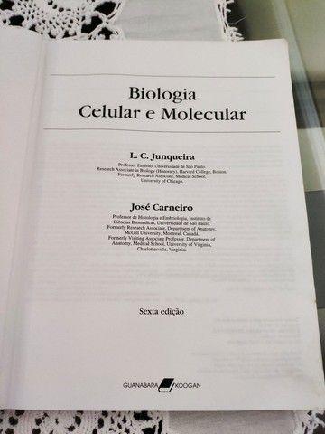 Livro Biologia Celular e Molecular - Junqueira e Carneiro - Foto 5