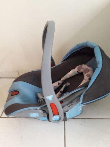Carrinho com bebê conforto menino - Foto 5