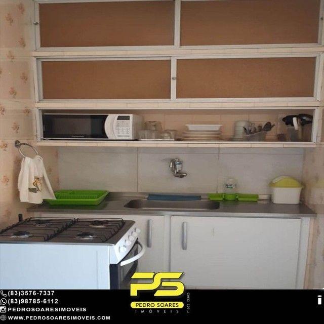 Apartamento com 1 dormitório para alugar, 60 m² por R$ 1.400,00/mês - Tambaú - João Pessoa - Foto 5