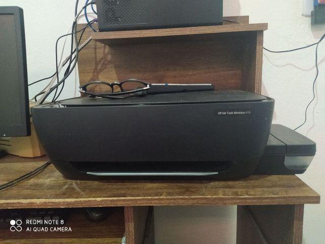 Impressora HP bem conservada com nota fiscal