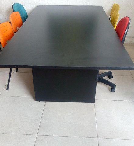 Mesa reunião e cadeiras - Foto 5