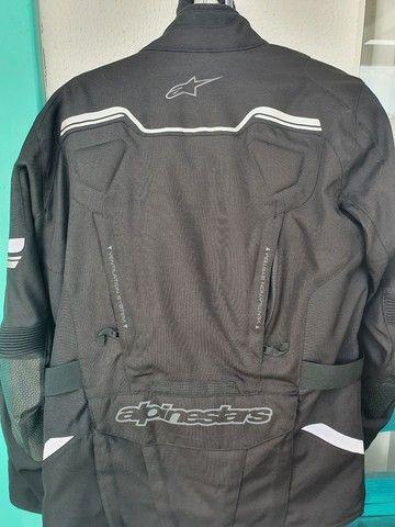 Jaqueta para moto alpine star nova com manual