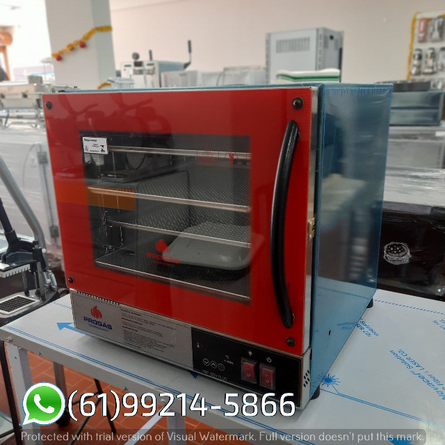 Forno Turbo Fast Oven 4 Telas Prp-004 Plus Industrial Elétrico Progás