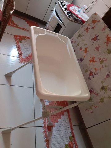 Vende se banheira com trocador - Foto 2