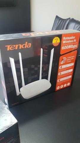 Roteador Wireless 600mbps - 4 Antenas - Tenda - Novo