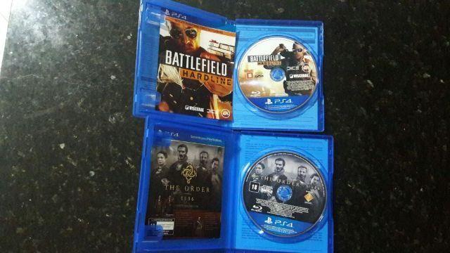 PS4 The Order 1886 e Battelefield Hardline