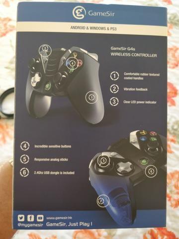 Controle Gamer Celular PC TV GameSir G4S Android Windows e PS3 pronta entrega