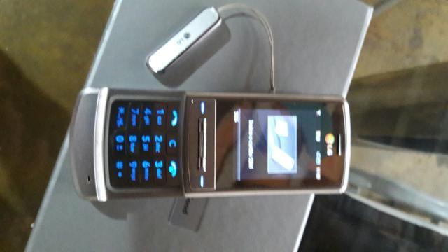 Aparelho celular LG shine. mod. ME970c completo na caixa