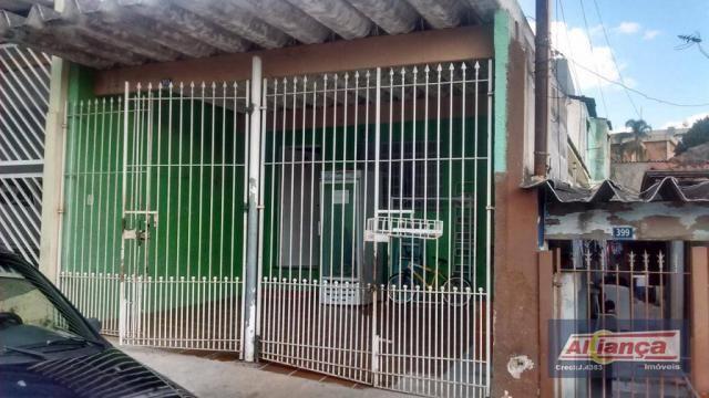 Casa residencial à venda, Vila Flora, Guarulhos.