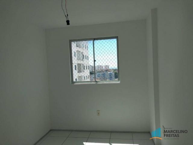 Apartamento com 3 dormitórios para alugar, 63 m² por R$ 1.509/mês - Monte Castelo - Fortal - Foto 8