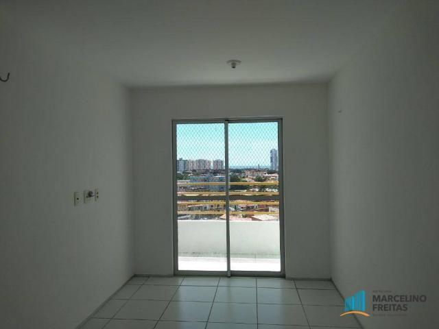 Apartamento com 3 dormitórios para alugar, 63 m² por R$ 1.509/mês - Monte Castelo - Fortal - Foto 4