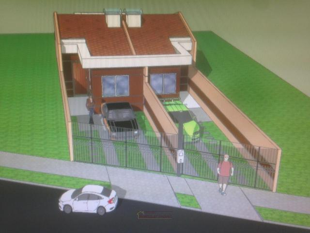 Casas na R: São José dos Pinhais com 2 dormitórios - Foto 3