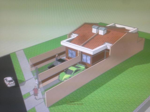 Casas na R: São José dos Pinhais com 2 dormitórios - Foto 4