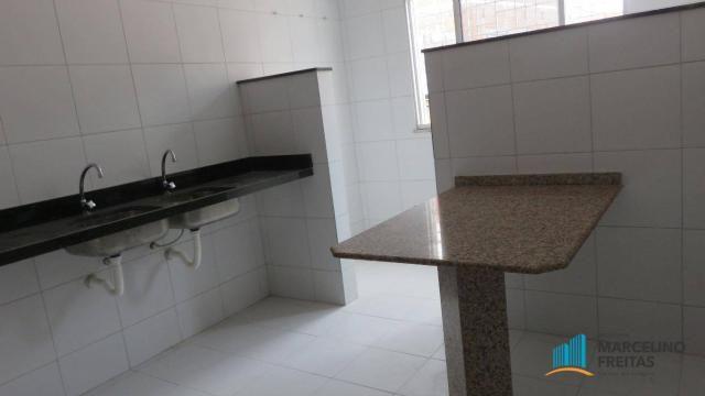 Casa com 1 dormitório para alugar, 38 m² por R$ 609,00/mês - Álvaro Weyne - Fortaleza/CE - Foto 7