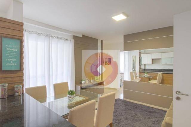 Apartamento com 2 dormitórios à venda, 52 m² por R$ 173.500 - Cidade Industrial - Curitiba - Foto 9