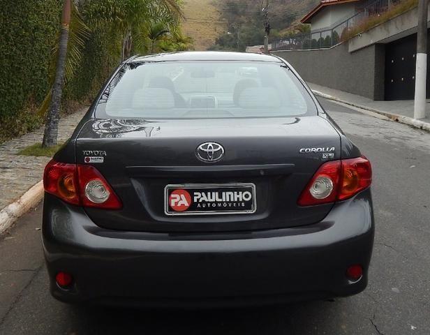 Toyota Corolla 2010/2010 1.8 XLI 16V Flex 4P Automático Completo Muito Conservado - Foto 6
