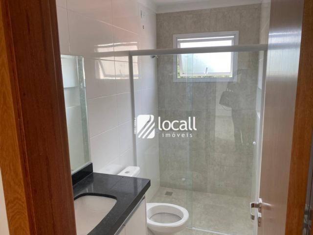 Apartamento com 1 dormitório para alugar, 55 m² por r$ 1.300/mês - vila são pedro - são jo - Foto 5