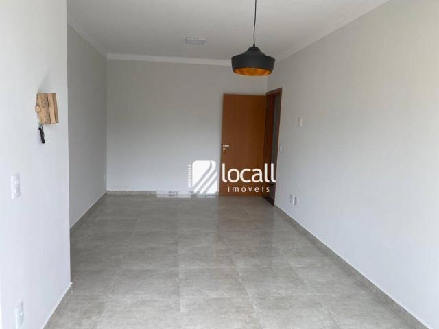 Apartamento com 1 dormitório para alugar, 55 m² por r$ 1.300/mês - vila são pedro - são jo - Foto 8
