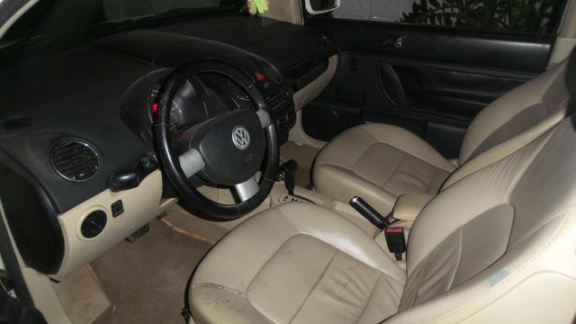 VW- New Beetle 2.0 Cor Branco Com Teto Solar Ano 2006/2007 - Foto 9
