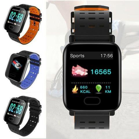Relogio Smartwatch Inteligente A6 Corrida Batimentos Android -(Loja Wiki)-Bairro Cohab - Foto 3