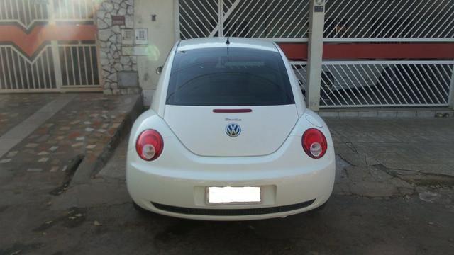 VW- New Beetle 2.0 Cor Branco Com Teto Solar Ano 2006/2007 - Foto 4