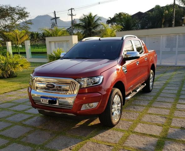 Ranger 3.2 Diesel 4x4 Limited - KM Real o carro é ZERO - Consigo Financiamento - 2017 - Foto 10