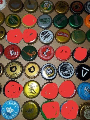 Lote tampinhas cervejas diversas para colecionador - Foto 4
