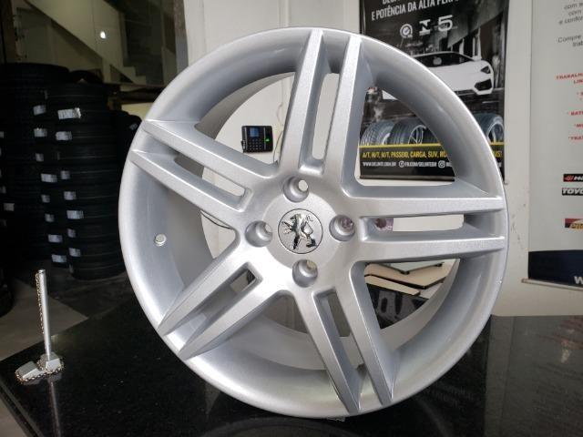 """Jogo de rodas Peugeot 308 ARO 17"""" - FURAÇÃO 4X108 - SS - R41"""