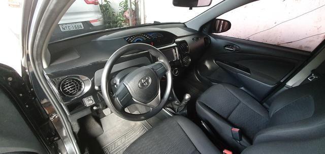 Toyota etios x 1.3 top r$29.900,00 - Foto 3