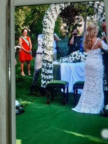 Vestido de noiva italiano (baixei)  - Foto 3